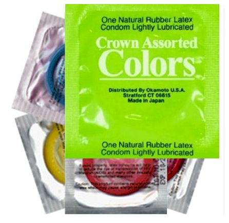 crown colors condoms