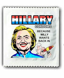 Hillary Clinton Willy Condoms