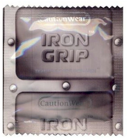 Iron Grip  Condoms | Caution Wear Brand - Allcondoms.com