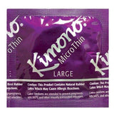 Kimono MicroThin Large Condoms - Allcondoms.com