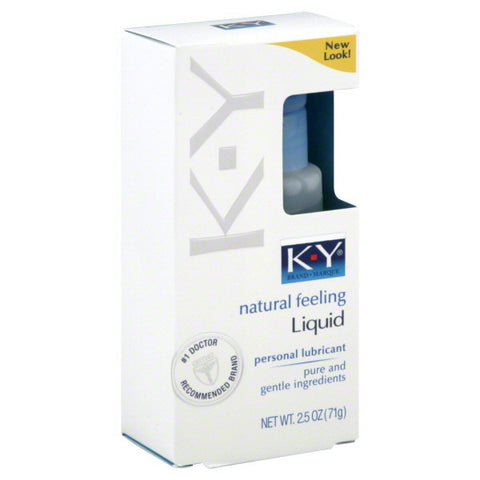 KY Liquid | KY Brand - Allcondoms.com
