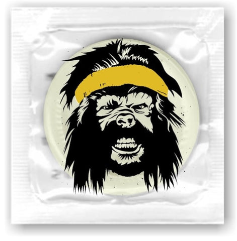 Personalized  Condoms, clear cellophane wrappers - Allcondoms.com