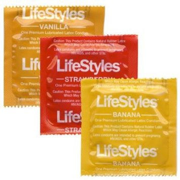 Lifestyles Assorted Flavors - Allcondoms.com