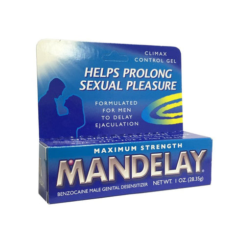 Mandelay Climax Control Gel - Allcondoms.com
