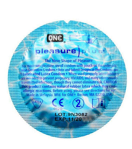 Pleasure Plus condoms | ONE Brand