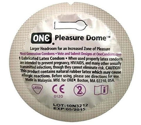 ONE Pleasure Dome | One Condoms - Allcondoms.com