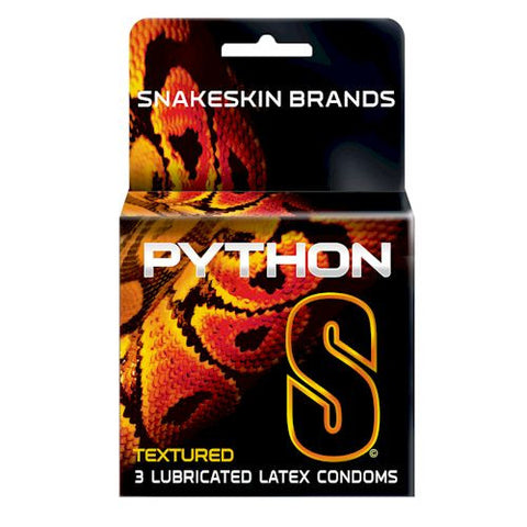 Python Condoms | Snakeskin Brand - Allcondoms.com