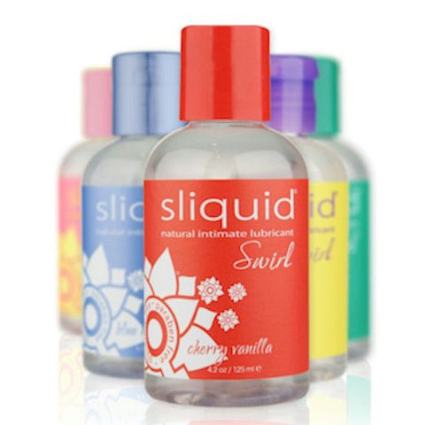 Sliquid Swirl Flavored Lubricants - Allcondoms.com