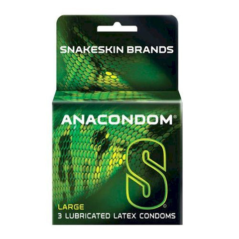 Snakeskin Anacondom Condoms - Allcondoms.com