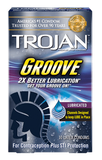 Trojan Groove Condoms - Allcondoms.com