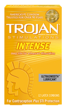 Trojan Stimulations Intense Ribbed Condoms - Allcondoms.com