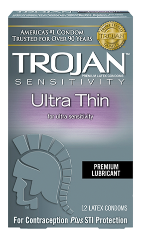 Trojan Ultra Thin Condoms - Allcondoms.com