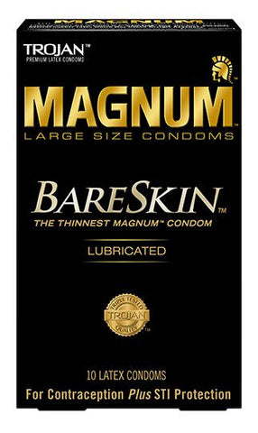 Trojan Magnum Bareskin condoms - Allcondoms.com