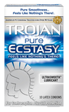Trojan Pure Ecstasy condoms