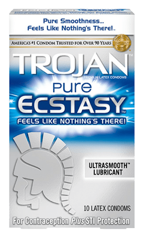 Trojan Pure Ecstasy - Allcondoms.com
