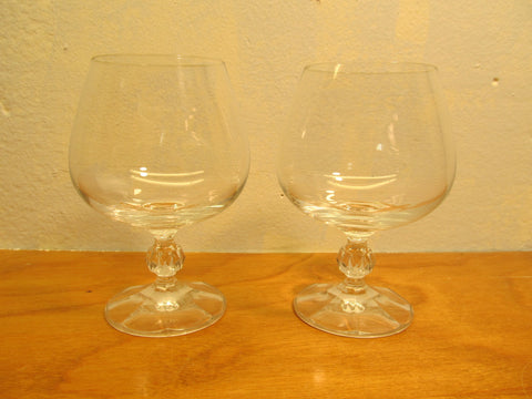 Set of Clear  Glasses