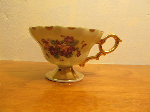 MADE IN ENGLAND LEFTON DECORATIVE CUP # 108