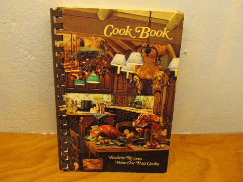 PUBLISHED IN 1983 FAVORITE RECIPES FROM OUR BEST COOK-COOK BOOK - Andres James Vintage Boutique