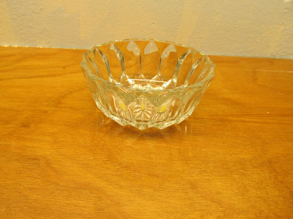 VINTAGE MADE IN ENGLAND CRYSTAL CANDY DISH - Andres James Vintage Boutique - 1