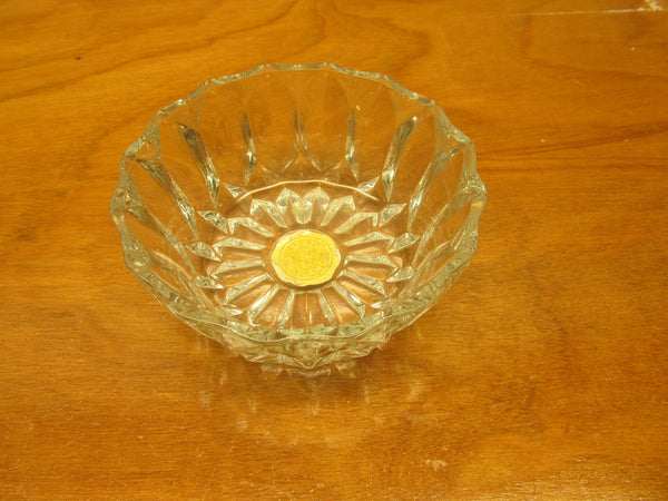 VINTAGE MADE IN ENGLAND CRYSTAL CANDY DISH - Andres James Vintage Boutique - 3