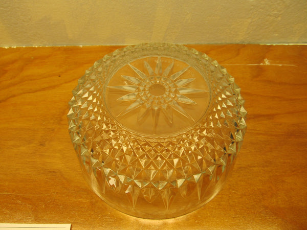 VINTAGE WATERFORD CRYSTAL LISMORE SALAD BOWL FROM ARCOROC FRANCE - Andres James Vintage Boutique - 3