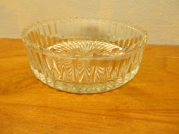 VINTAGE CRYSTAL CANDY DISH 1940'S OR 1950'S - Andres James Vintage Boutique - 1