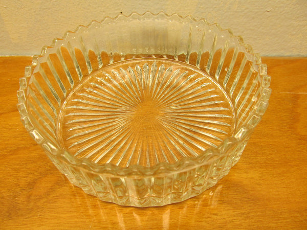 VINTAGE CRYSTAL CANDY DISH 1940'S OR 1950'S - Andres James Vintage Boutique - 2