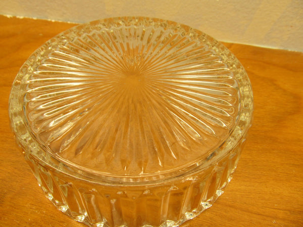 VINTAGE CRYSTAL CANDY DISH 1940'S OR 1950'S - Andres James Vintage Boutique - 3