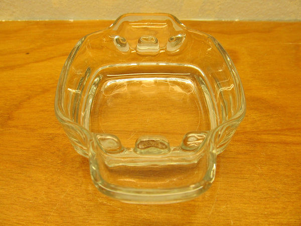 VINTAGE GLASS ASHTRAY - Andres James Vintage Boutique - 2
