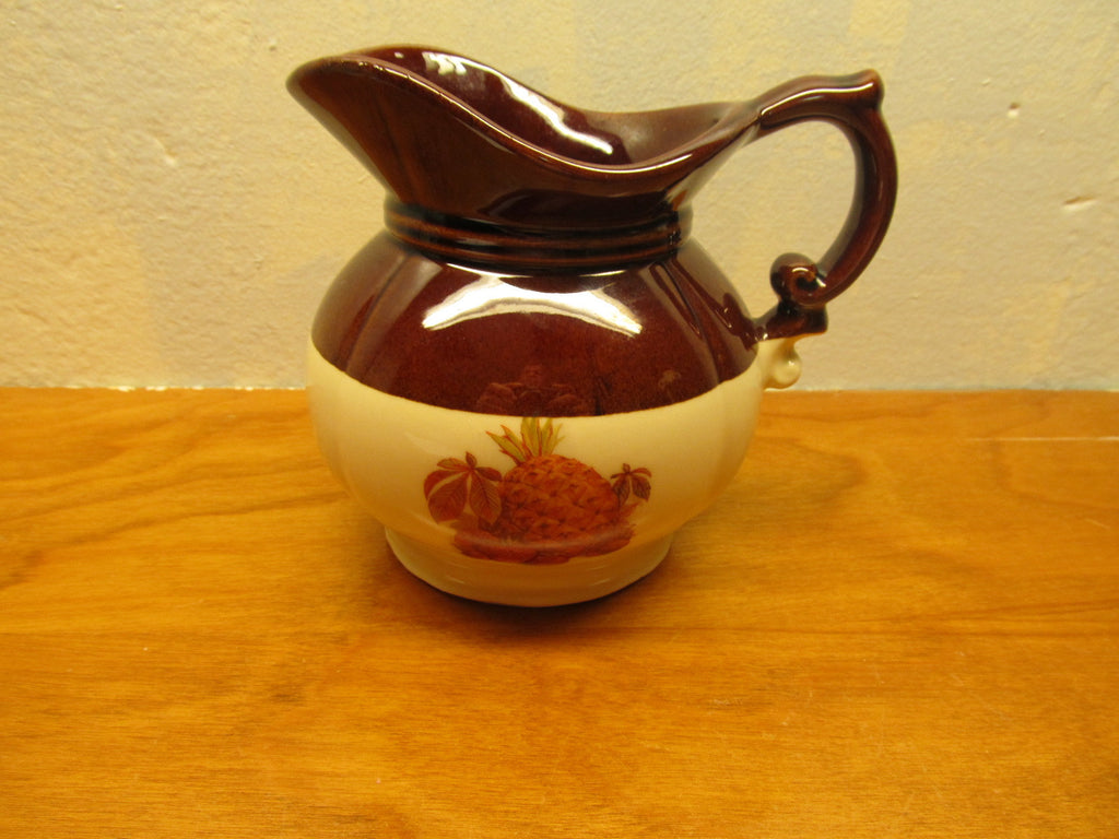 SMALL VINTAGE McCOY PITCHER MADE IN USA - Andres James Vintage Boutique - 1