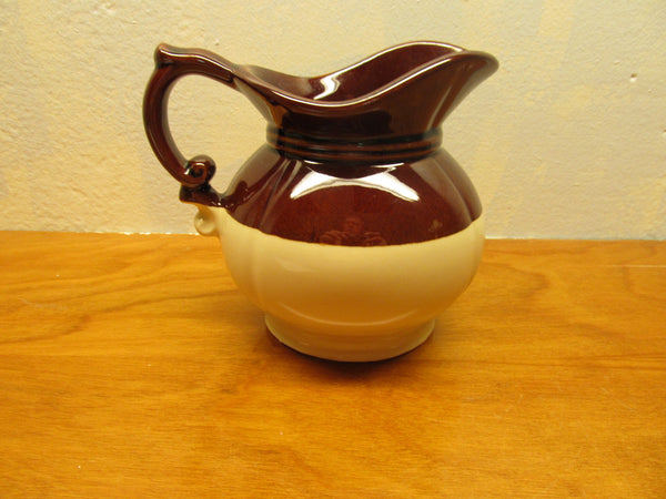SMALL VINTAGE McCOY PITCHER MADE IN USA - Andres James Vintage Boutique - 2