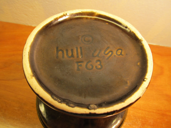 VINTAGE HULL GREEN F 63 CHALICE