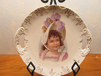 VINTAGE CARLSBAD AUSTRIA DECORATIVE PLATE - Andres James Vintage Boutique - 1