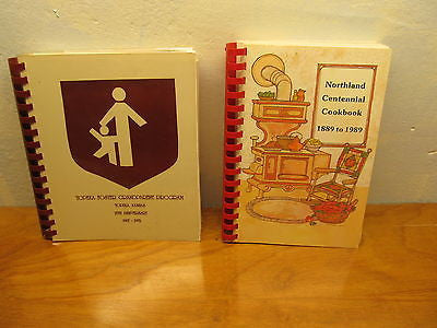 TOW MID WEST COOK BOOKS FROM TOPEKA KANSAS - Andres James Vintage Boutique - 1