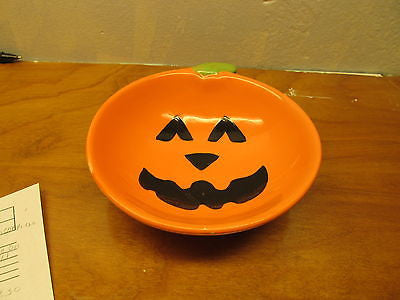 CERAMIC PUMPKIN CANDY DISH - Andres James Vintage Boutique