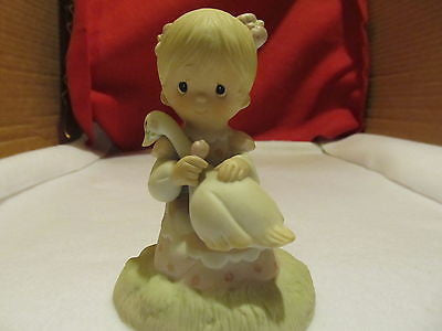 "PRECIOUS MOMENTS ""GOD IS LOVE"" FROM 1980 FIGURINE - Andres James Vintage Boutique"