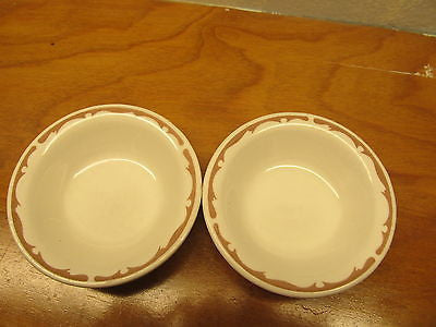 VINTAGE BUFFALO CHINA FRUIT CUPS - Andres James Vintage Boutique - 3