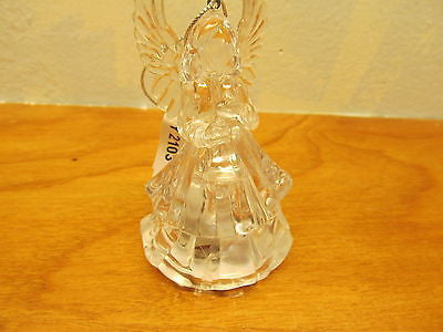 SMALL LIGHT UP ANGEL TREE ORNAMENT - Andres James Vintage Boutique - 1
