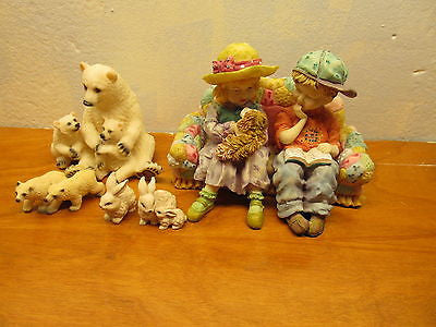 ASSORTMENT OF VINTAGE FIGURINES - Andres James Vintage Boutique