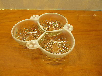VINTAGE HOBNAIL CANDY,NUT,MINT DISH - Andres James Vintage Boutique - 1
