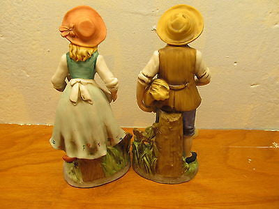 VINTAGE FRENCH COUNTRY COUPLE BY HOMCO - Andres James Vintage Boutique - 2
