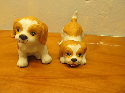 SET OF VINTAGE HOMCO PORCELAIN DOGS - Andres James Vintage Boutique - 1