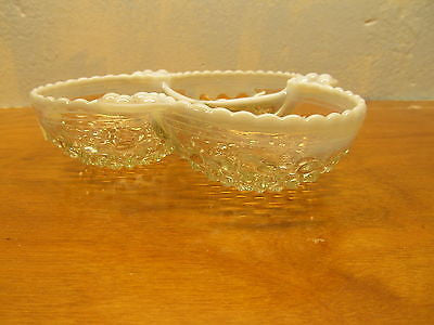 VINTAGE HOBNAIL CANDY,NUT,MINT DISH - Andres James Vintage Boutique - 2