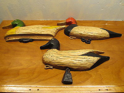 PLASTIC WALL DECORATION OF DUCKS - Andres James Vintage Boutique