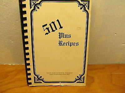 501 RECIPES COOK BOOK - Andres James Vintage Boutique