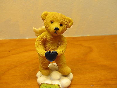 MONTH OF MARCH BIRTHDAY BEAR FIGURINE - Andres James Vintage Boutique