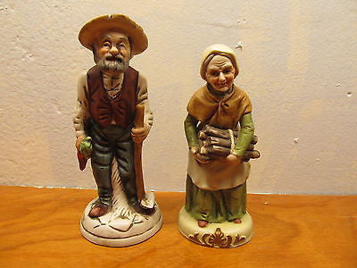 VINTAGE FRENCH COUNTRY COUPLE WITH NO TAGS BOTH IN EXCELLENT CONDITION - Andres James Vintage Boutique - 1