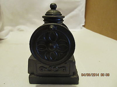 VINTGE BANTHRICO INC. COFFEE GRINDER BLACK METAL BANK MADE IN CHICAGO ILL. - Andres James Vintage Boutique - 3