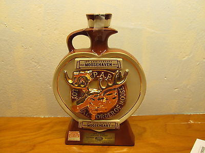 VINTAGE MOOSEHEART MOOSEHAVEN WHISKEY DECANTER - Andres James Vintage Boutique - 1