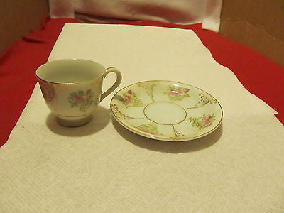 UCAGO OCCUPIED JAPAN DECORATIVE VINTAGE CUP AND SAUCER - Andres James Vintage Boutique - 1